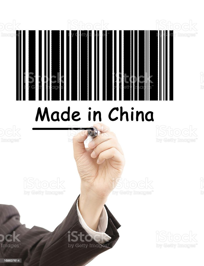 made in China royalty-free stock photo
