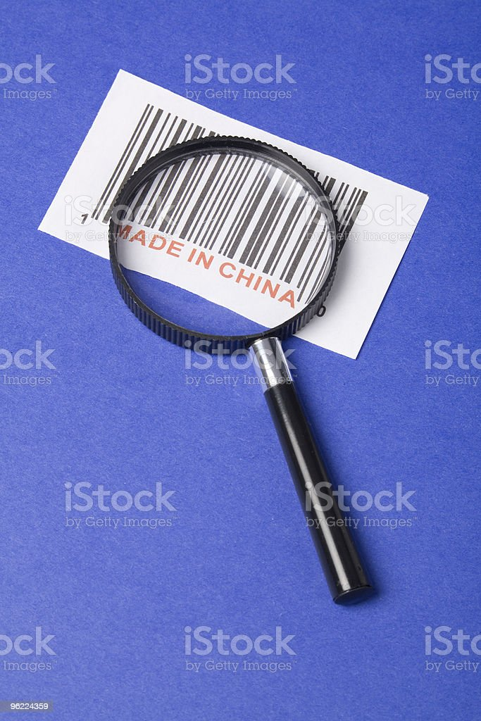 'made in china' stock photo