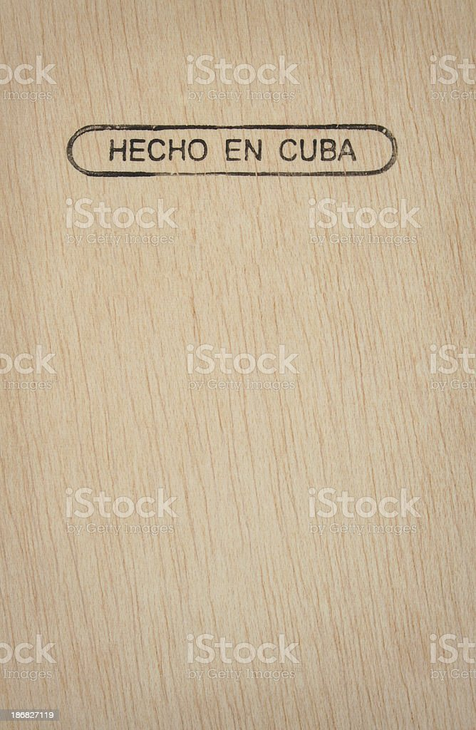 made in Cuba royalty-free stock photo