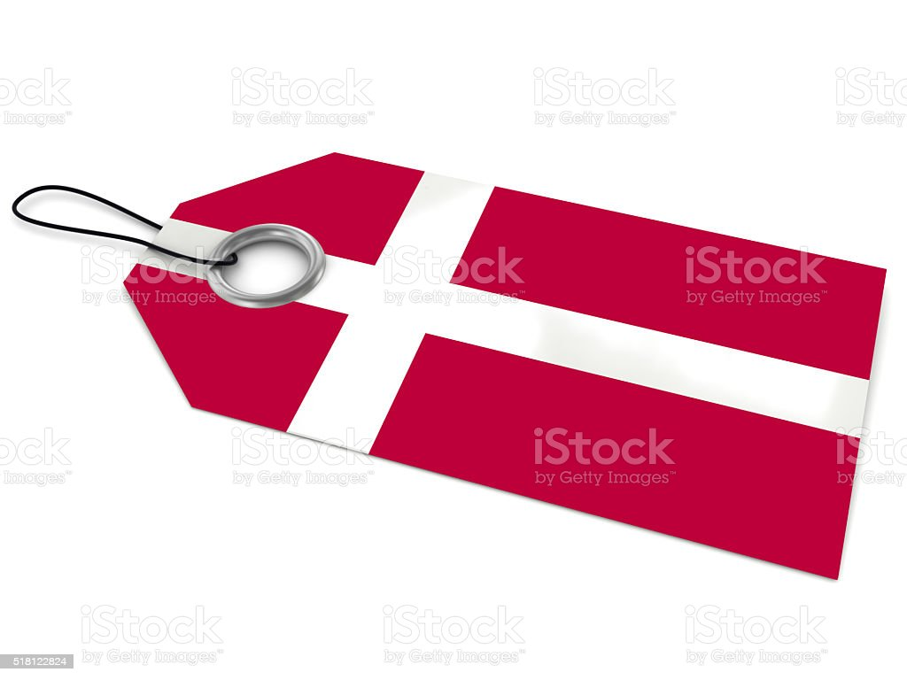 Made in Denmark stock photo