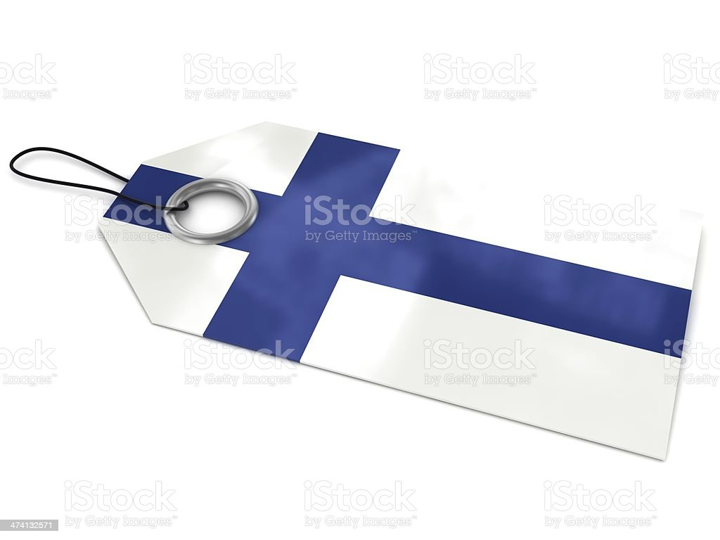 Made in Finland stock photo