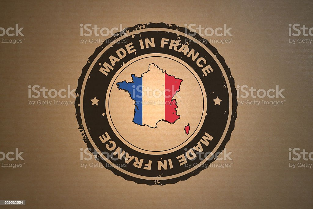 Made in France stock photo
