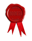 Made in Indonesia Wax Stamp