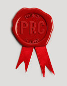 Made in PRC Wax Stamp