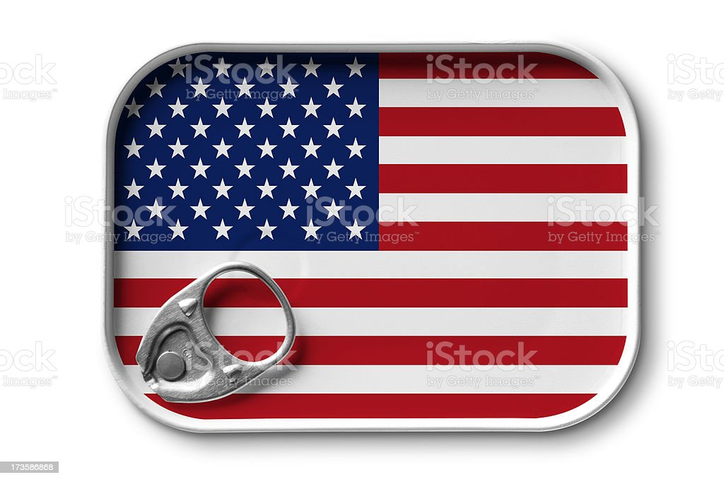 Made in U.S.A. stock photo