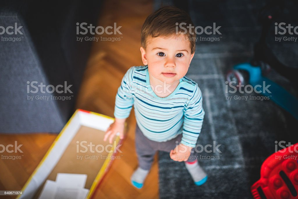 I made some mess stock photo