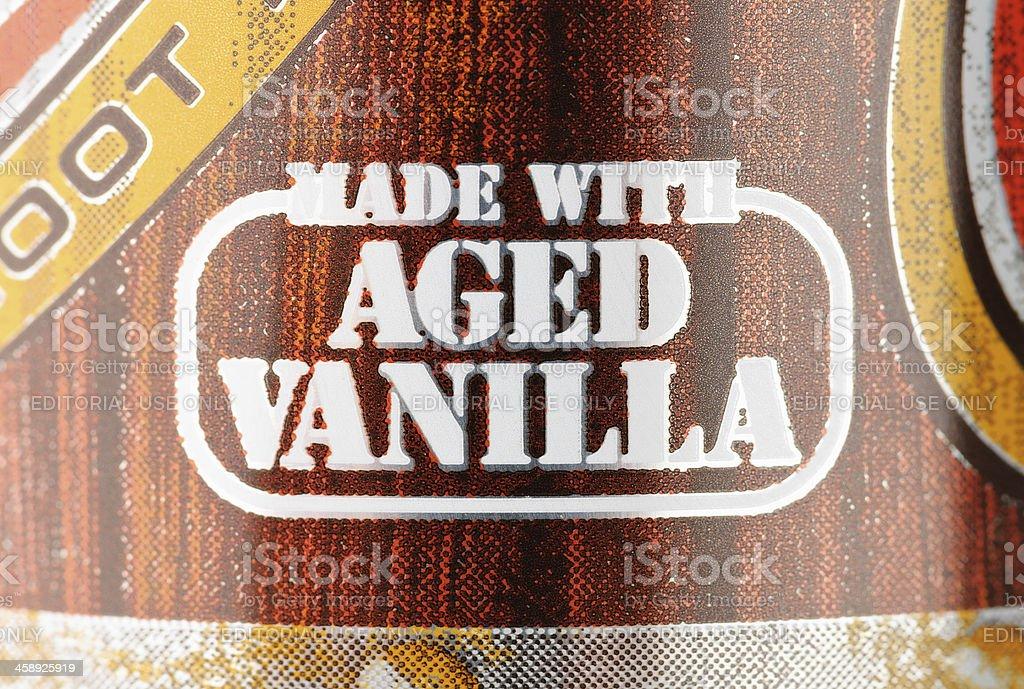Made With Aged Vanilla royalty-free stock photo