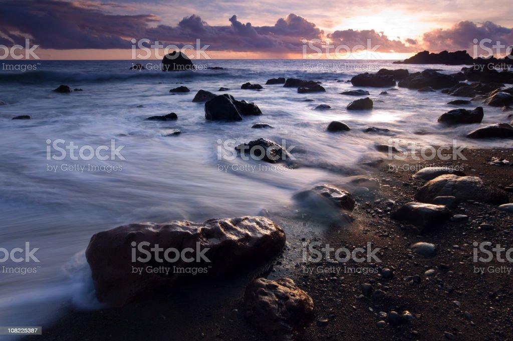 madeira coastline royalty-free stock photo