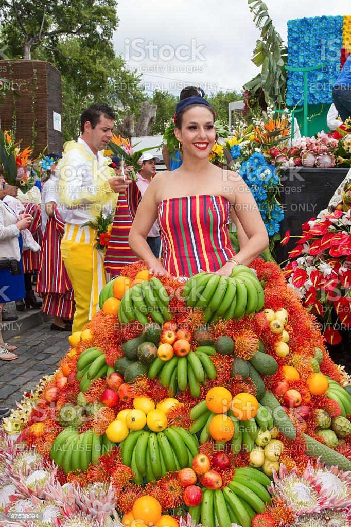 Madeira Flower Festival, Funchal, Madeira, Portugal, Europe stock photo