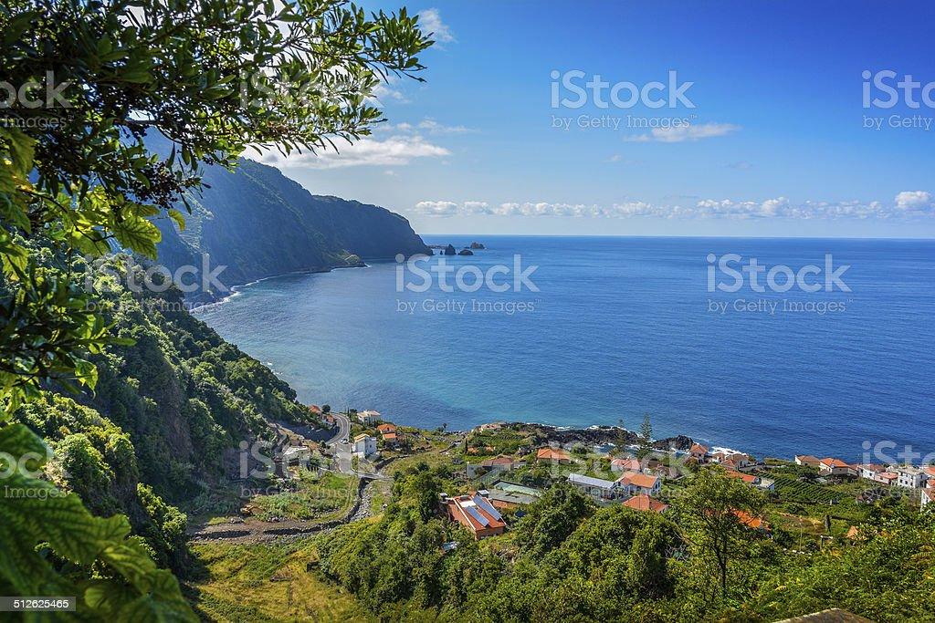 Madeira island - North Coast stock photo