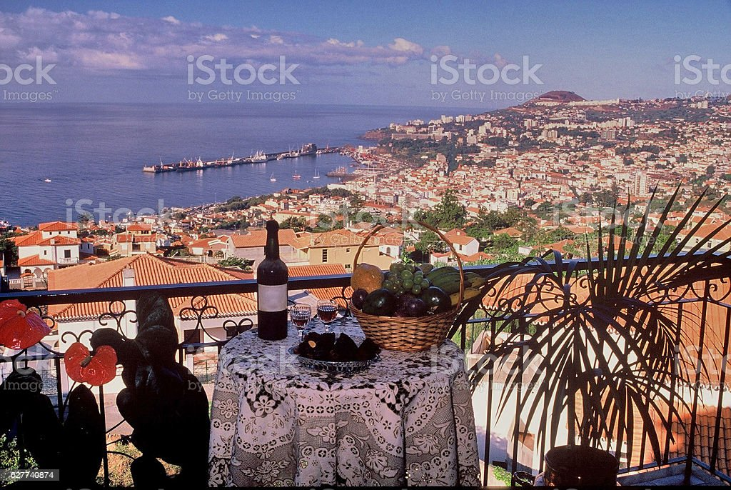 Madeira Island (Funchal city) stock photo
