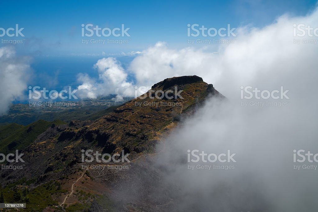 Madeira mountins royalty-free stock photo
