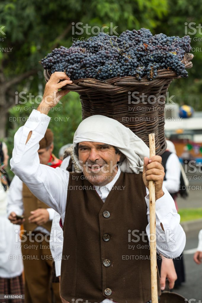 Madeira Wine Festival in Funchal stock photo