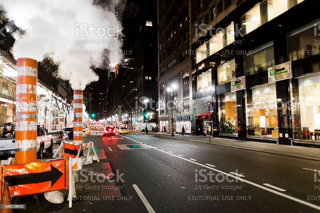 Madison Avenue New York City royalty-free stock photo