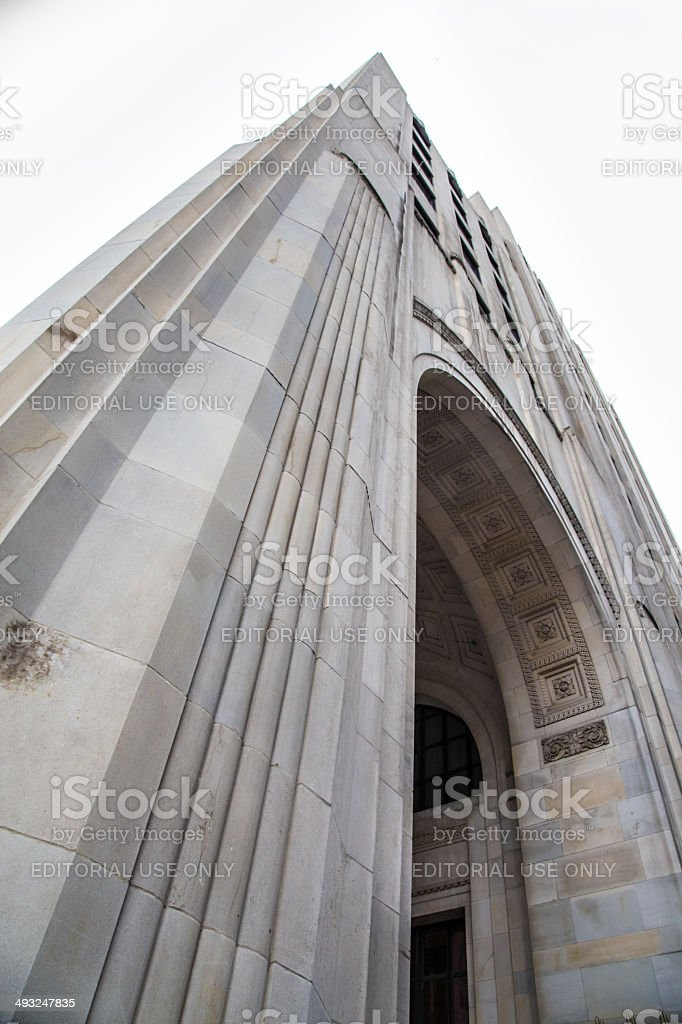 Madison Avenue North Building NYC stock photo