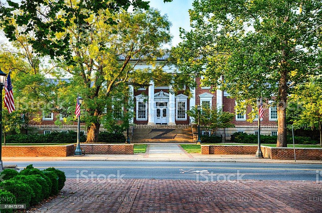 Madison Hall stock photo