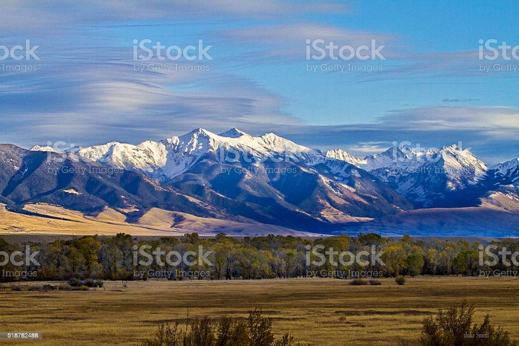 Madison Range stock photo