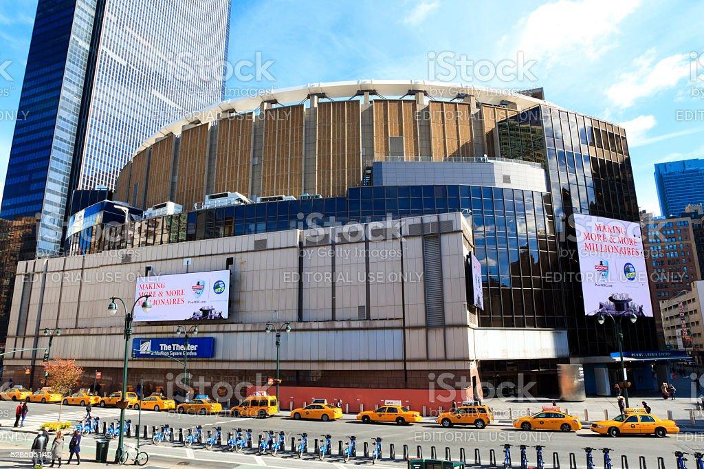 Madison Square Garden stock photo