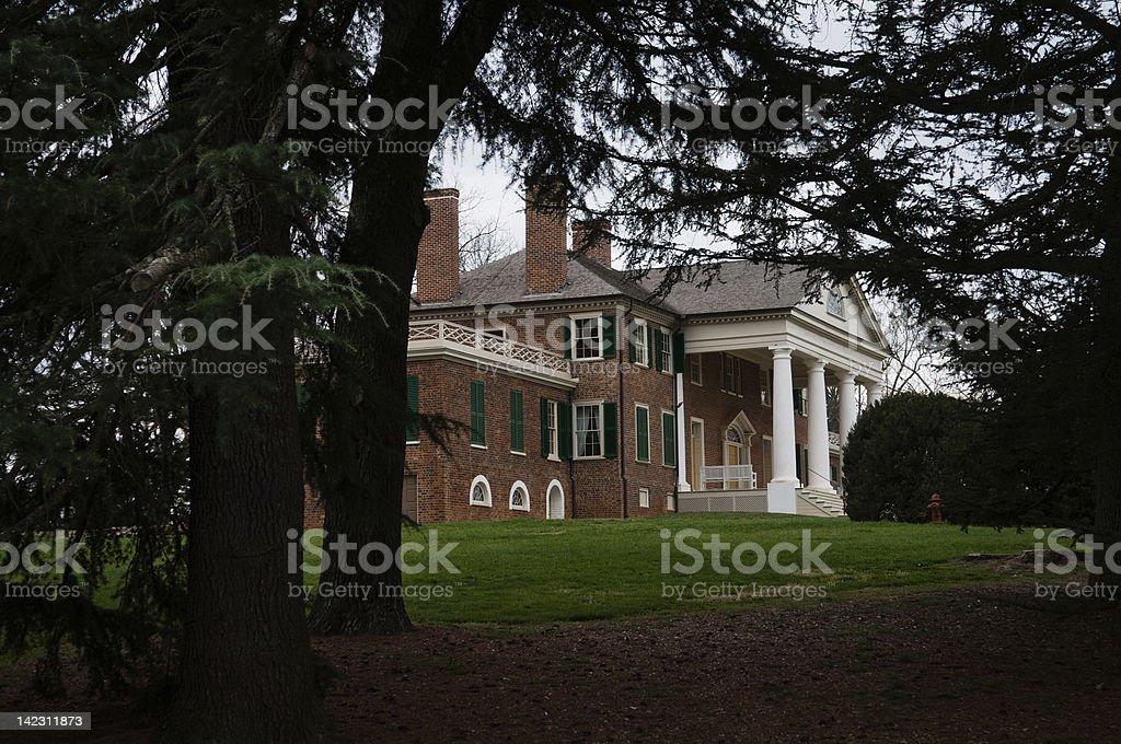 Madison's Montpelier stock photo
