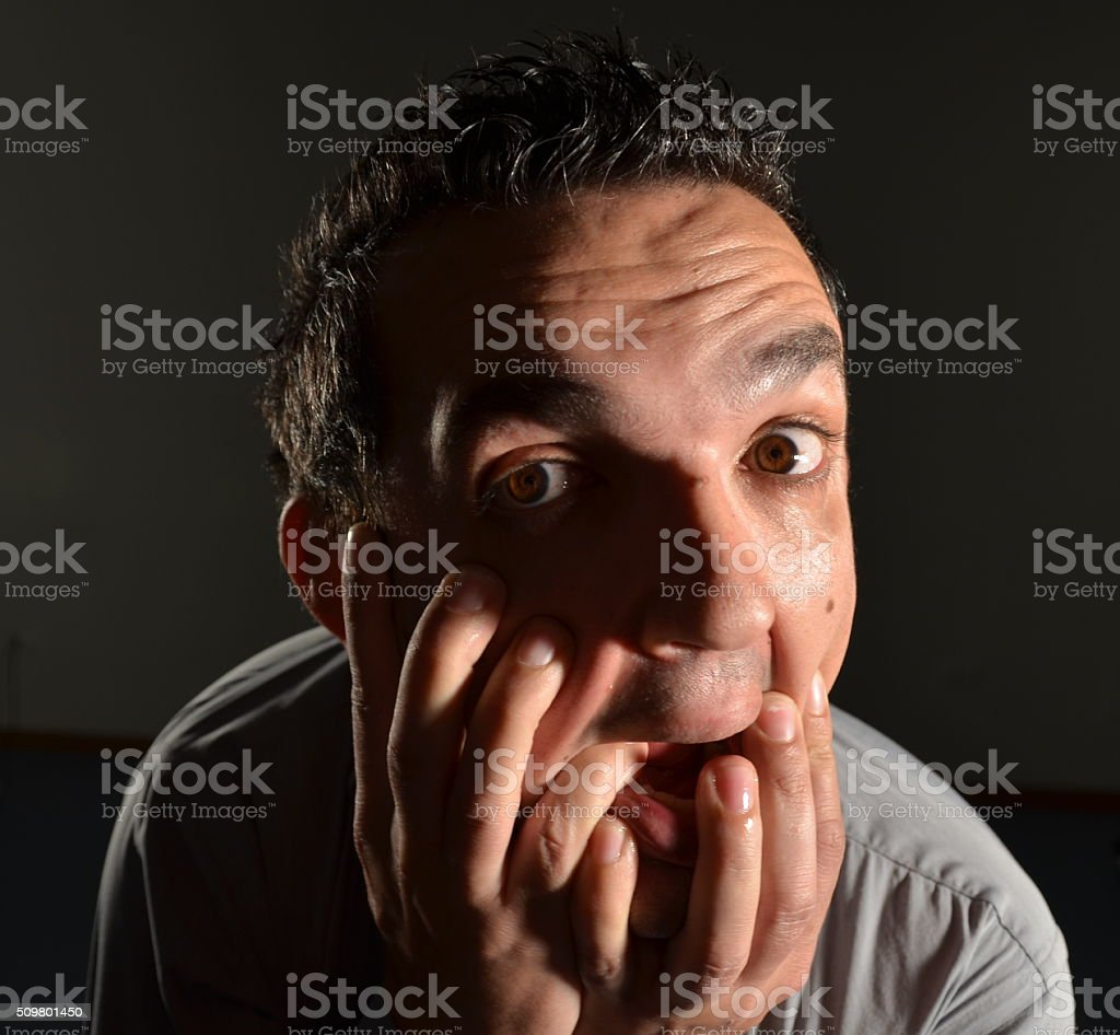 Madness inside stock photo