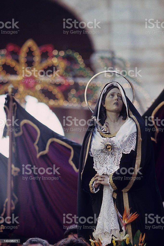 Madonna Addolorata royalty-free stock photo