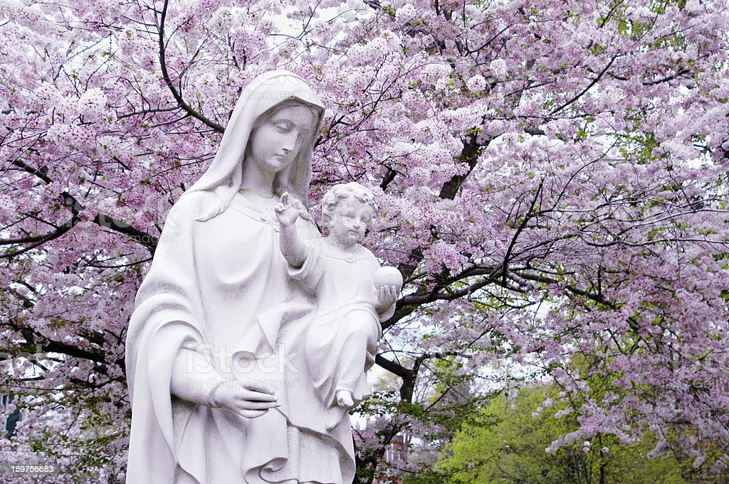 Madonna & Child royalty-free stock photo