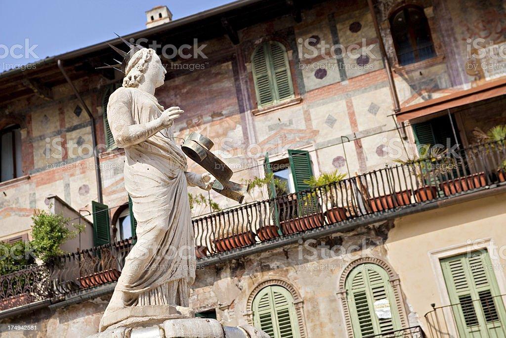 Madonna Verona Statue stock photo
