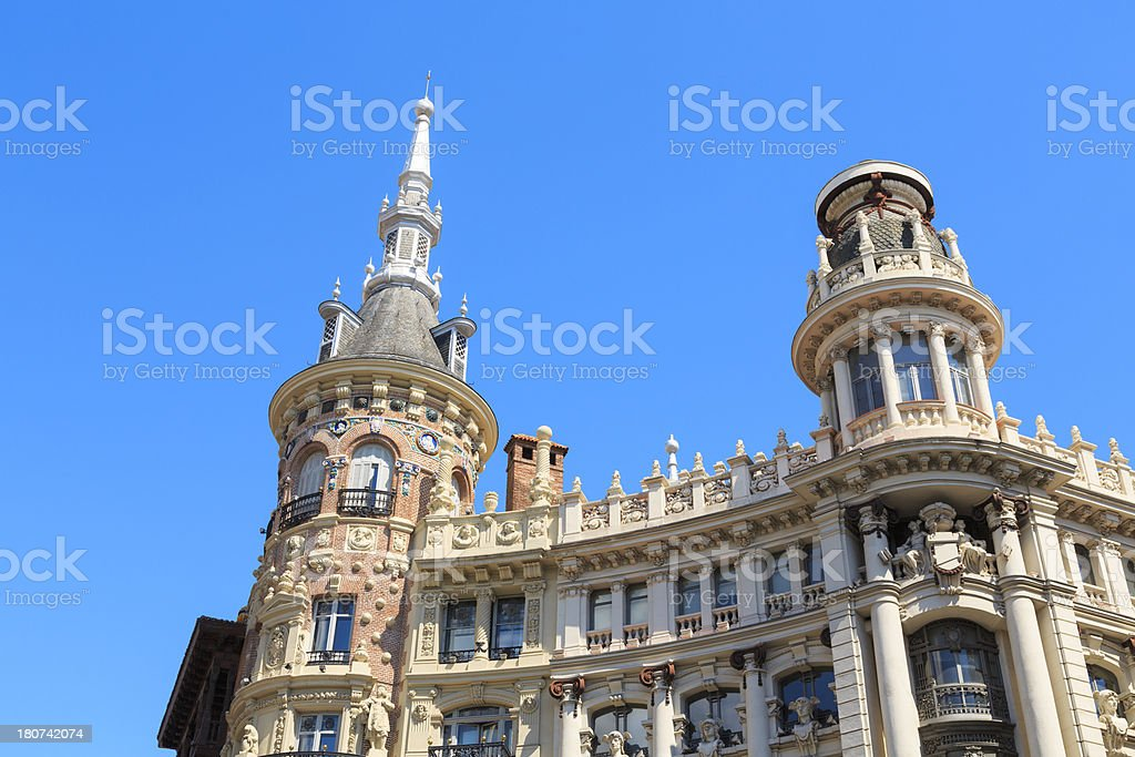 Madrid arictecture royalty-free stock photo