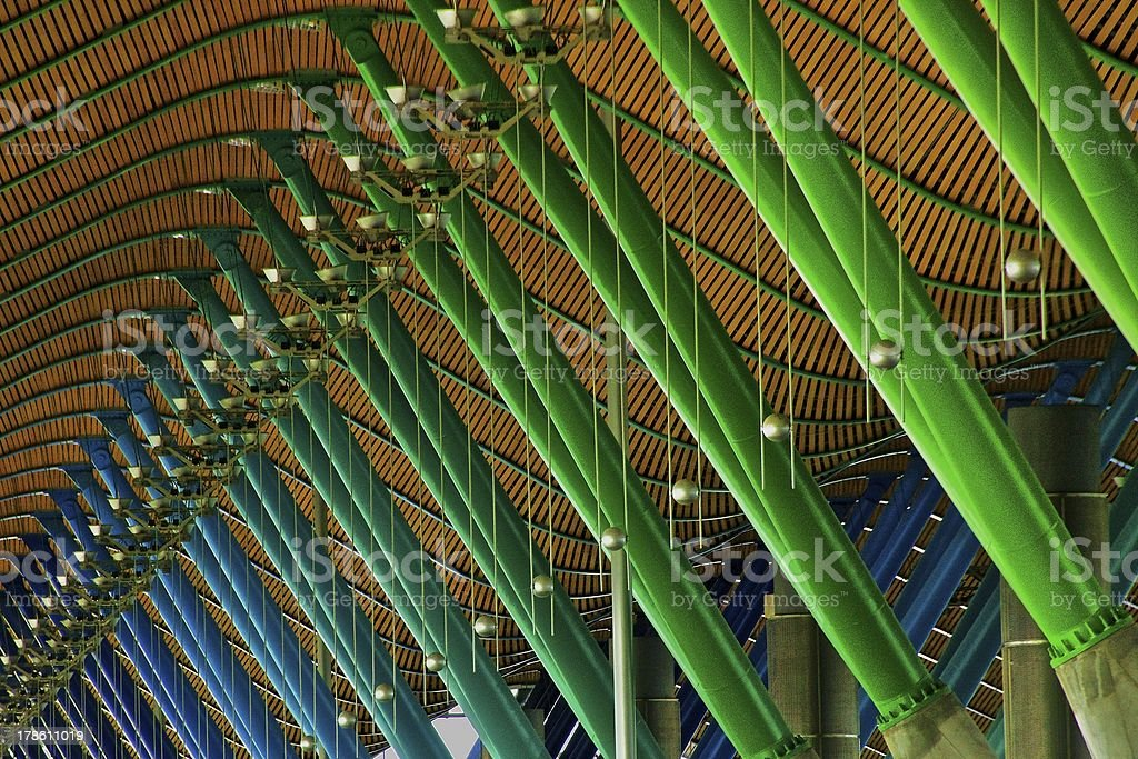 Madrid Barajas Airport stock photo