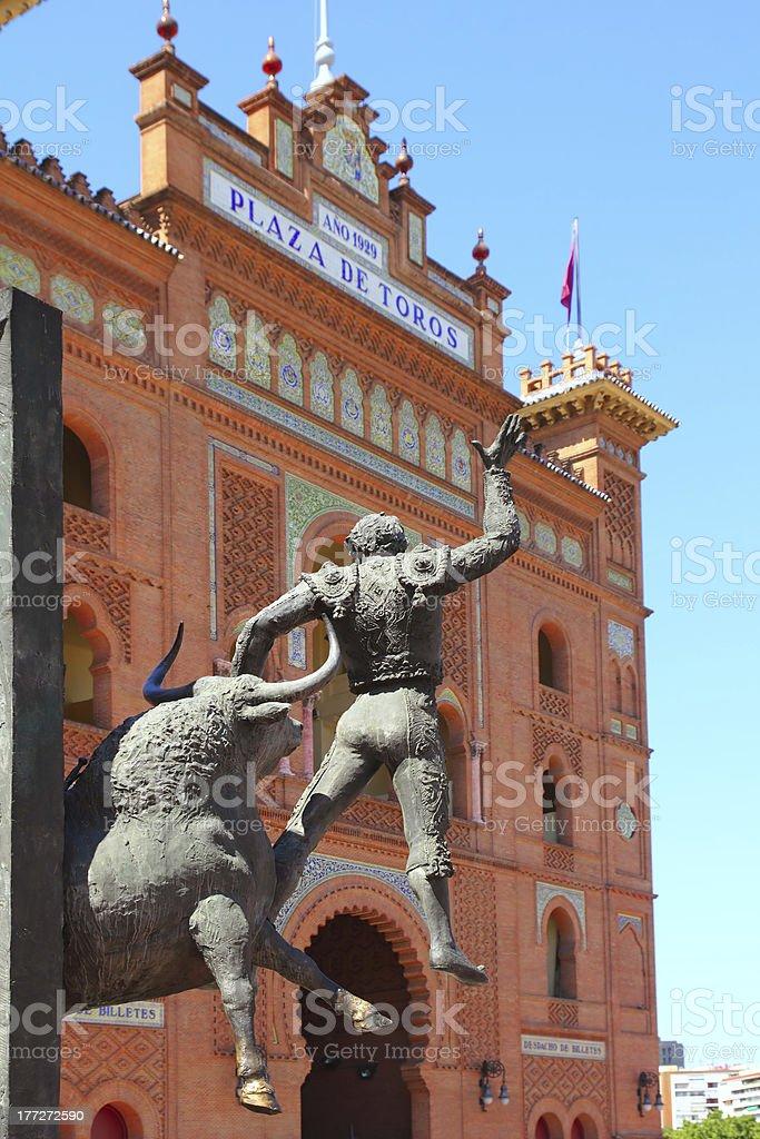 Madrid bullring Las Ventas Plaza Monumental stock photo