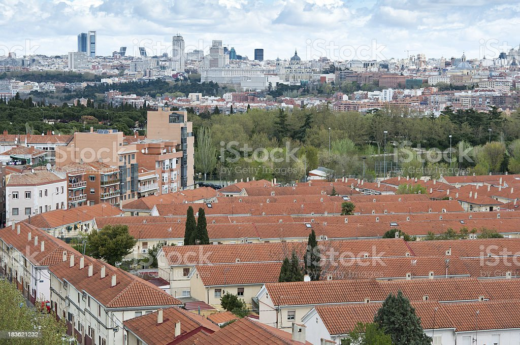 Madrid City royalty-free stock photo