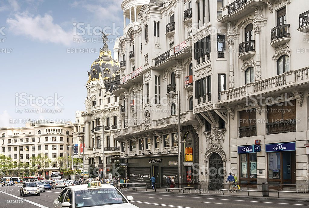 Madrid royalty-free stock photo