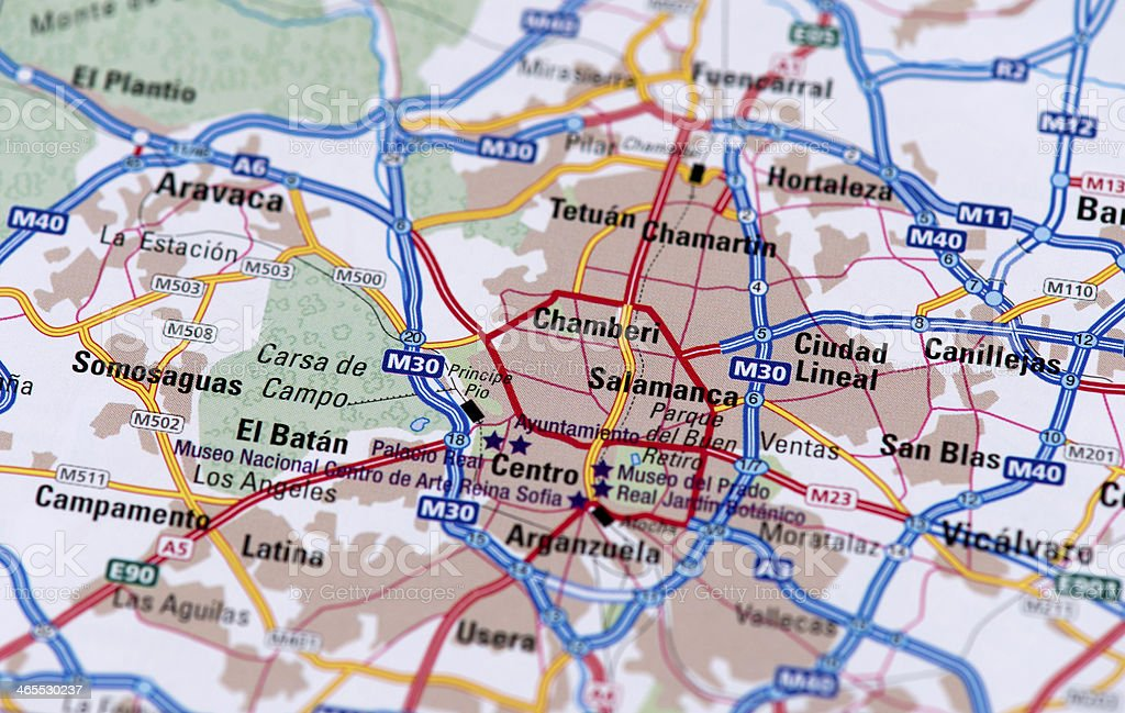 Madrid royalty-free stock photo