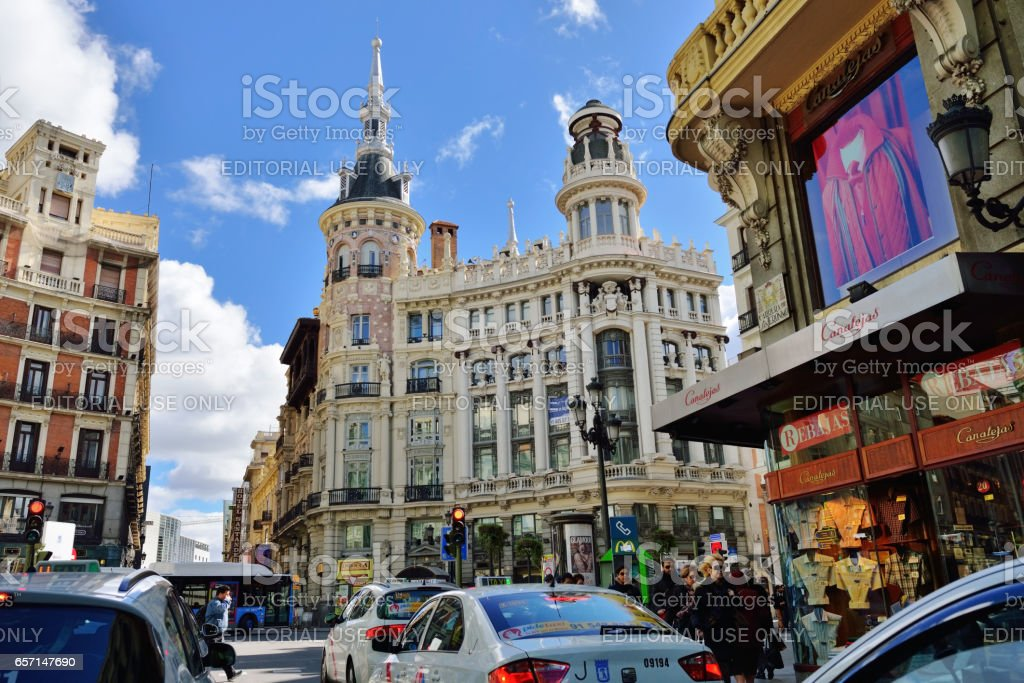 Madrid stock photo