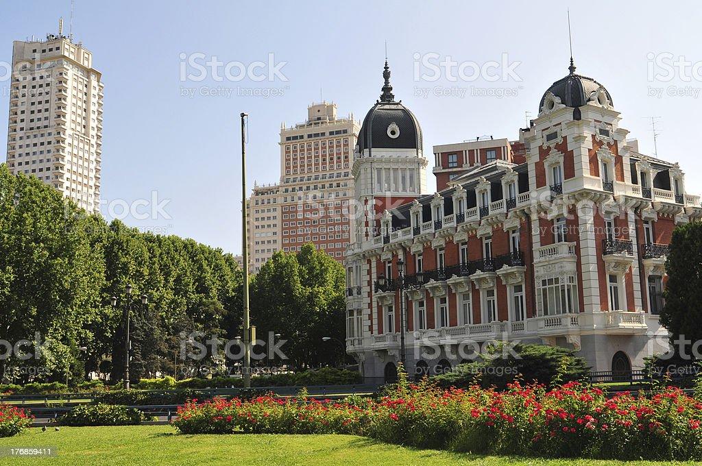 Madrid - Plaza Espana royalty-free stock photo