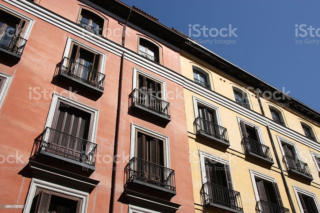 Madrid, Spain stock photo