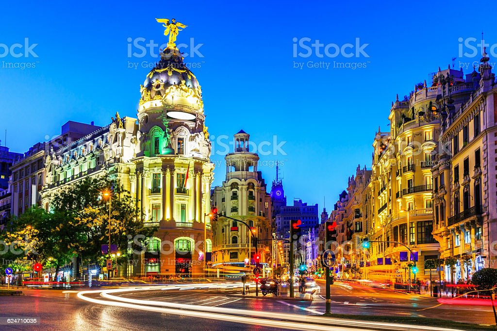 Madrid, Spain. stock photo