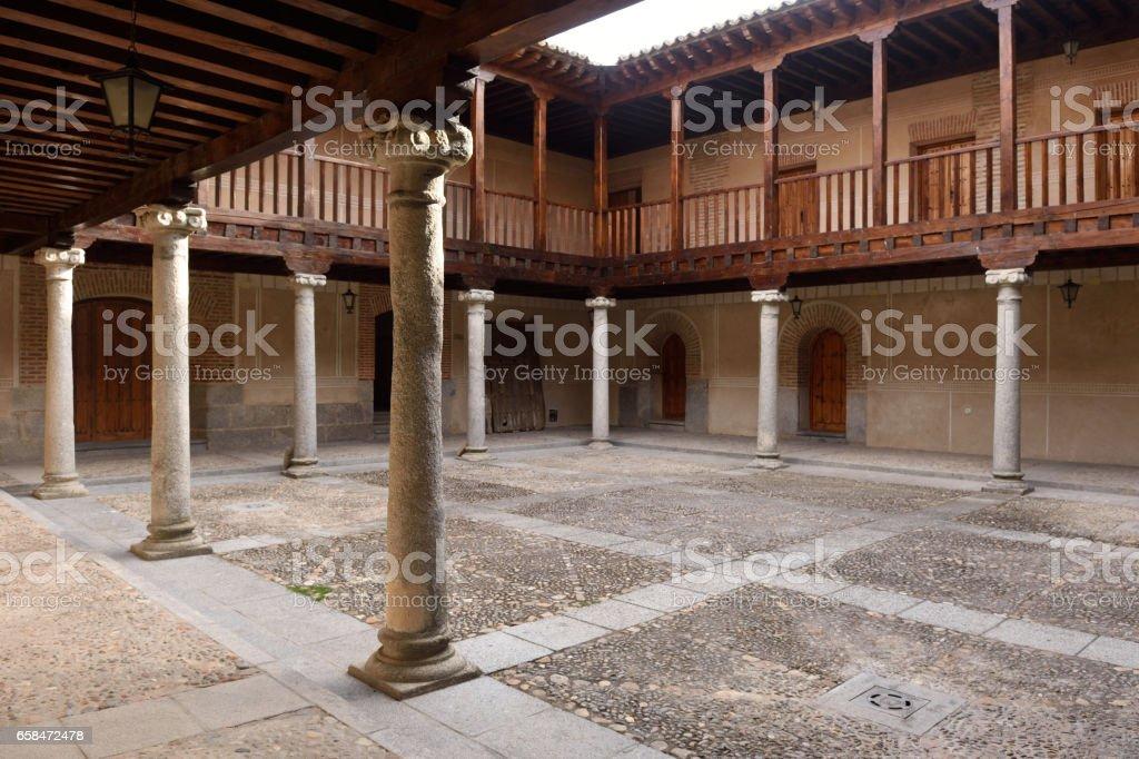 Madrigal de las Altas Torres stock photo