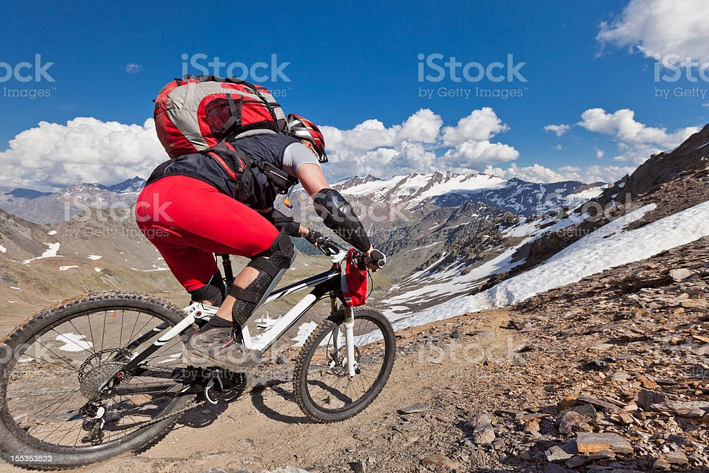 Madritsch Downhill Challenge royalty-free stock photo