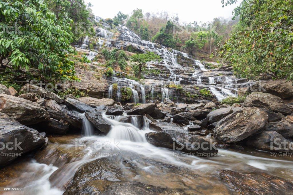 Mae Ya Waterfall , Chiang Mai stock photo