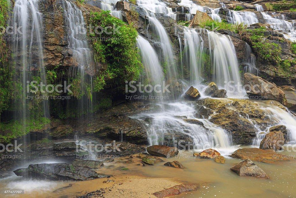 Maeya Wasserfall Lizenzfreies stock-foto
