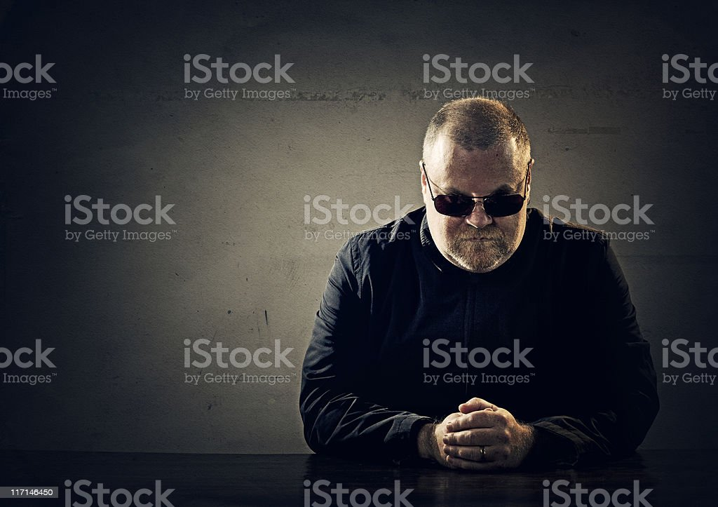 mafia member stock photo
