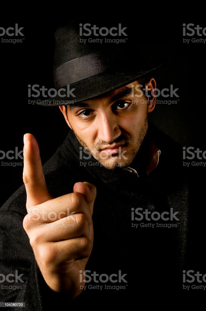 mafia royalty-free stock photo