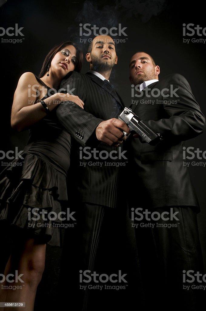 mafia royalty-free stock photo