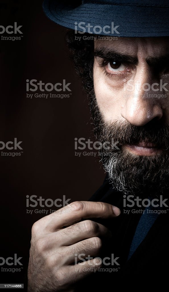 Mafioso royalty-free stock photo