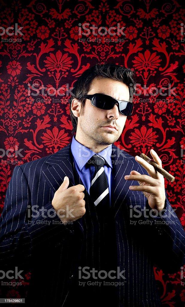 Mafioso stock photo