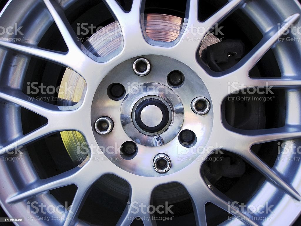 Mag Wheel royalty-free stock photo