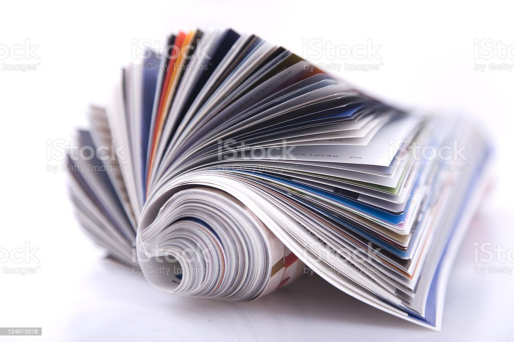 magazine royalty-free stock photo