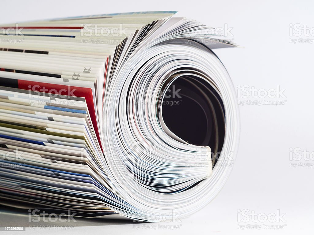 Magazin royalty-free stock photo