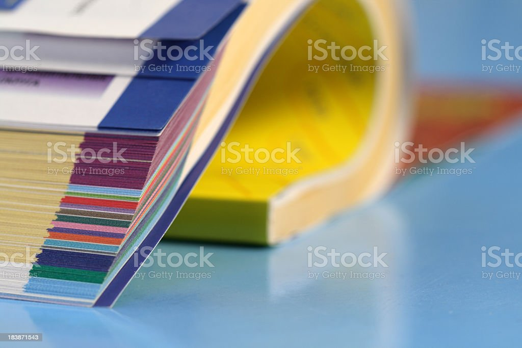 Magazine stock photo